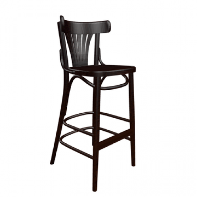 Fan Back Bar Stool - $7.50