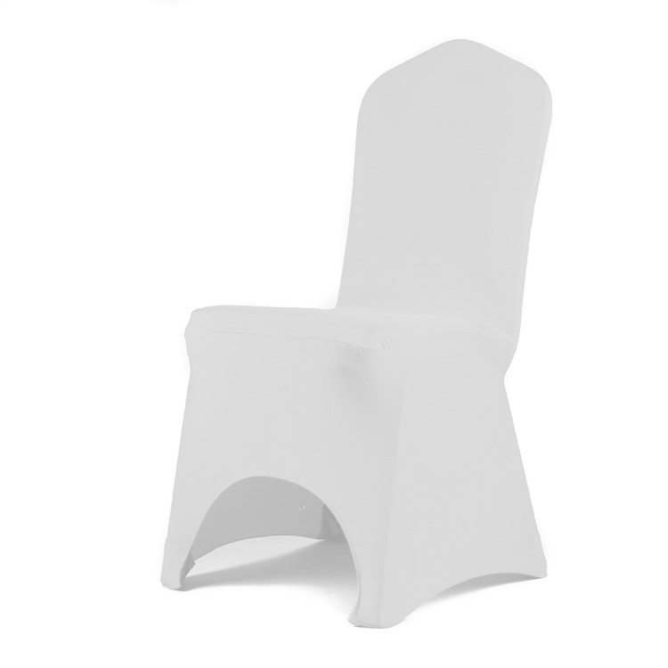 White Lycra Chair Cover - $3.50