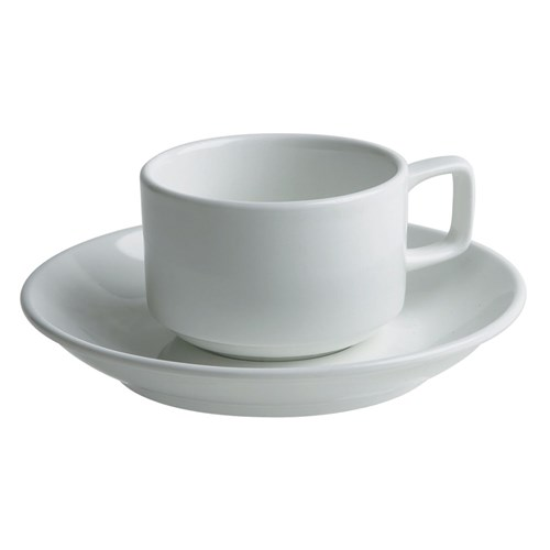 Tea Cup with Saucer - $0.65