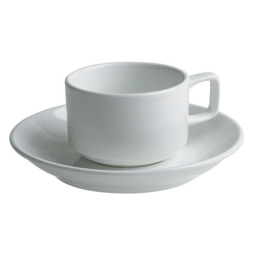 Tea Cup with Saucer - $0.65