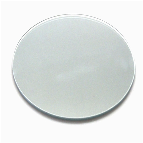 Small Round Mirror Base - $3.00