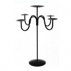 Black  Candle Holder - $12.50