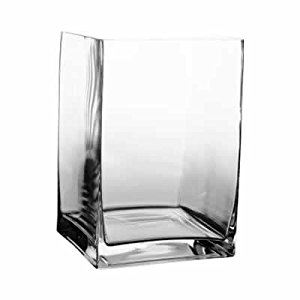Rectangle Vase - $4.50