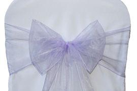 Lavender Organza - $1.00