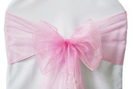 Pink Organza - $1.00