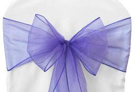 Purple Organza - $1.00
