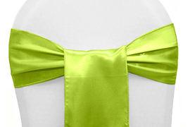 Lime Green Satin - $1.50