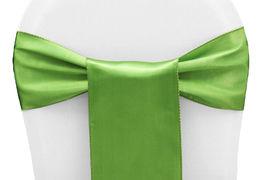 Clover Green Satin - $1.50