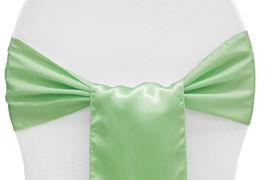 Mint Green Satin - $1.50