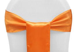 Orange Satin - $1.50
