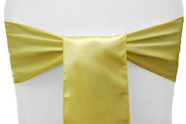 Yellow Satin - $1.50