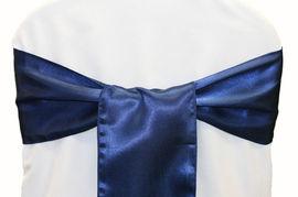 Navy Blue Satin - $1.50