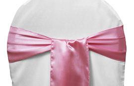 Medium Pink Satin - $1.50