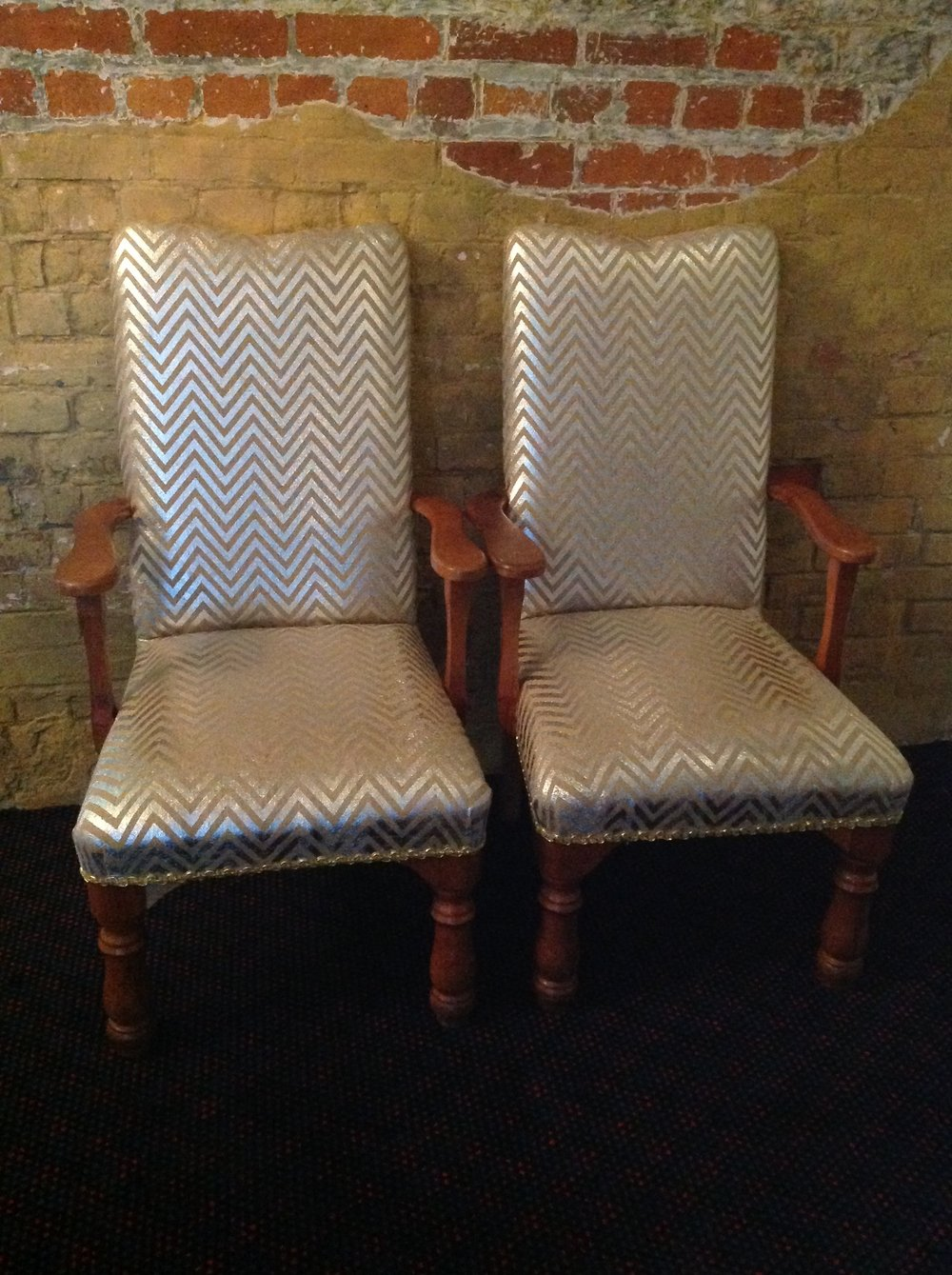 King & Queen Chair - $50.00 Pair