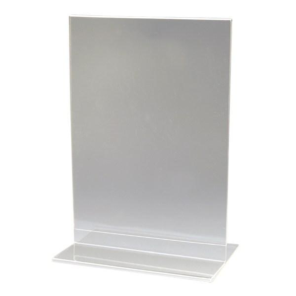 Plastic Menu Holder - $1.00
