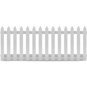 Picket Fence 2m - $15.00