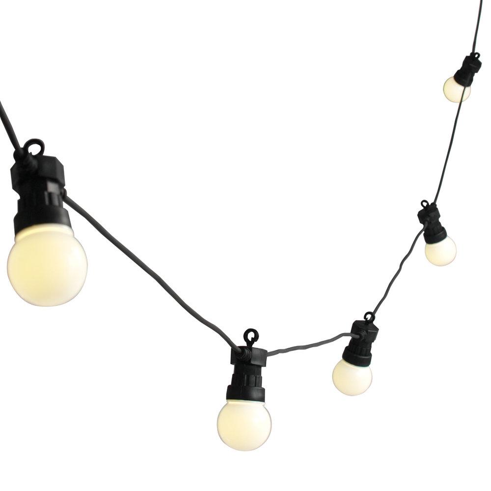 10m Festoon Lights - $40.00