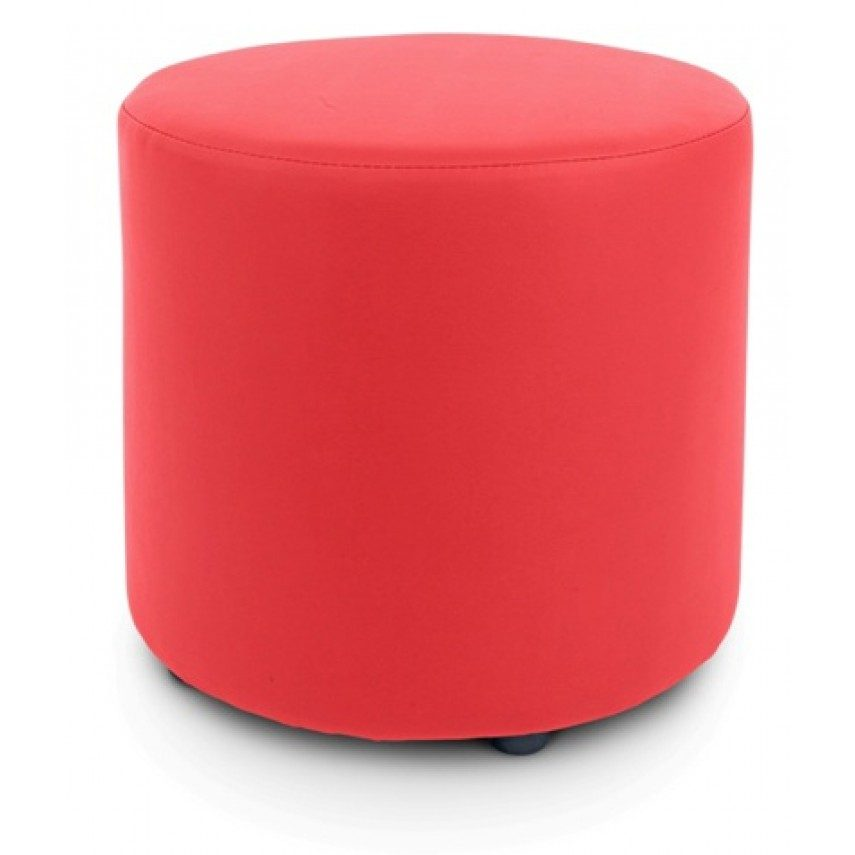 Red Ottoman Cover - $5.00