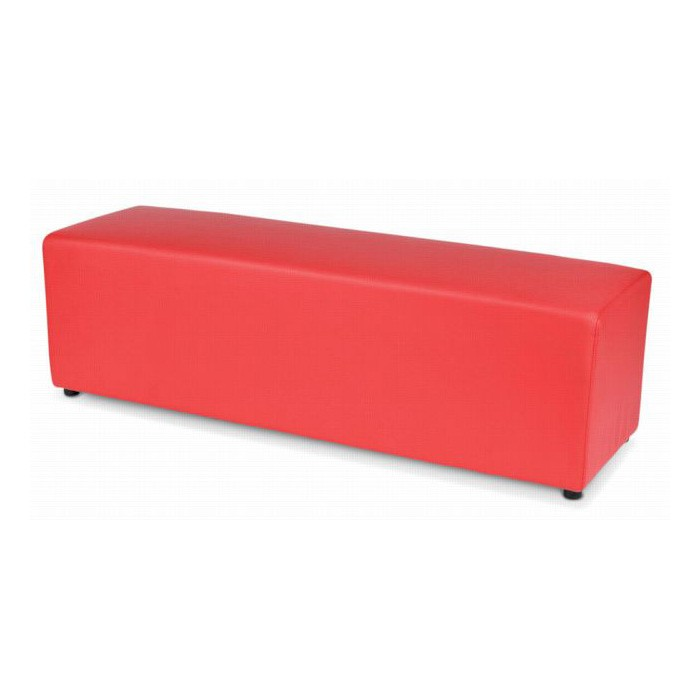 Red Ottoman Cover - $15.00