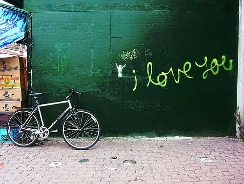 i love you fixie hipster