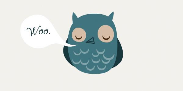 WOO! owl stuff.