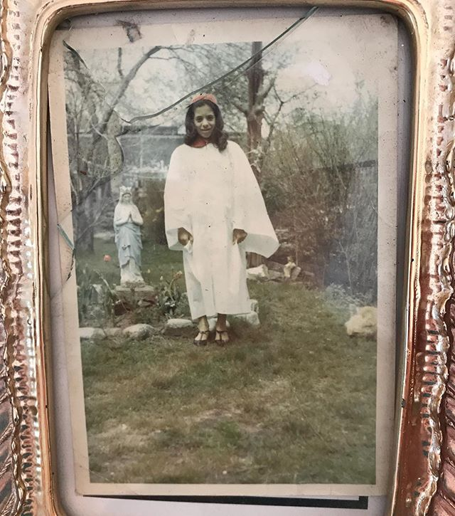 I found this photo of my biological mother c 1965. This would be in Fair Haven section of New Haven, CT. . . Growing up, I spent a lot of time being asked if I was really related to my siblings. People would make jokes about it or be rude. I am 100% related to them biologically. We have the same features, just different complexions, mostly. Our bodies are also similar in natural musculature and proportion. So much that I never really noticed how distinct I was amongst them, or why people asked me that so frequently. Enough people around me looked  like me that I didn't feel like an total outlier. Rather than blending into my family, I blended into the general population. (If I kept my mouth shut, that is). I was isolated everywhere I went, in a sense. I remain a very solitary creature still; it's how I know how to survive. . . I have a certain level of dysmorphia relative to family because of how severely violent mine was and remains towards me beginning at a very young age. It was so normalized into the group. I was always meant to be the black sheep, I guess. But blood is strong. My mother made all of us. And watching the outlines of macro-level conflicts in society having played out within your nuclear family is wild. Too much to assimilate real time, I suspect. It only comes in reverse. . . My course is what it is because of how distinct I was from them, but that doesn't change my blood. A lot of the world I understand because of the dynamics of my own experience, even if I couldn't have understood them without the sacrifice of distance and time. There's some catholic allegory in there somewhere but the time is always later than you think, and that's not where you came from anyway.
