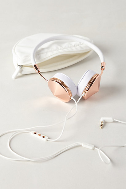 Leather-Wrapped Headphones