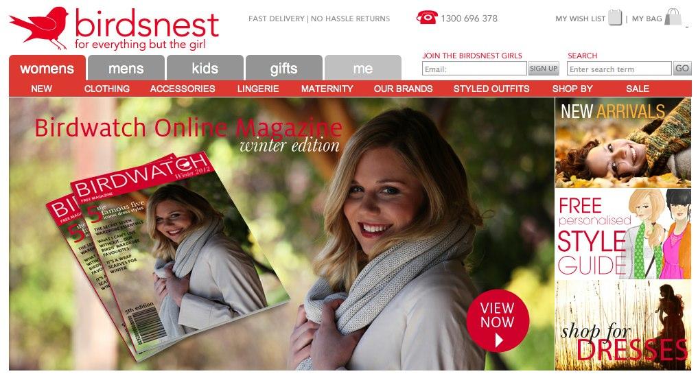 Birdsnest Dresses & Clothing