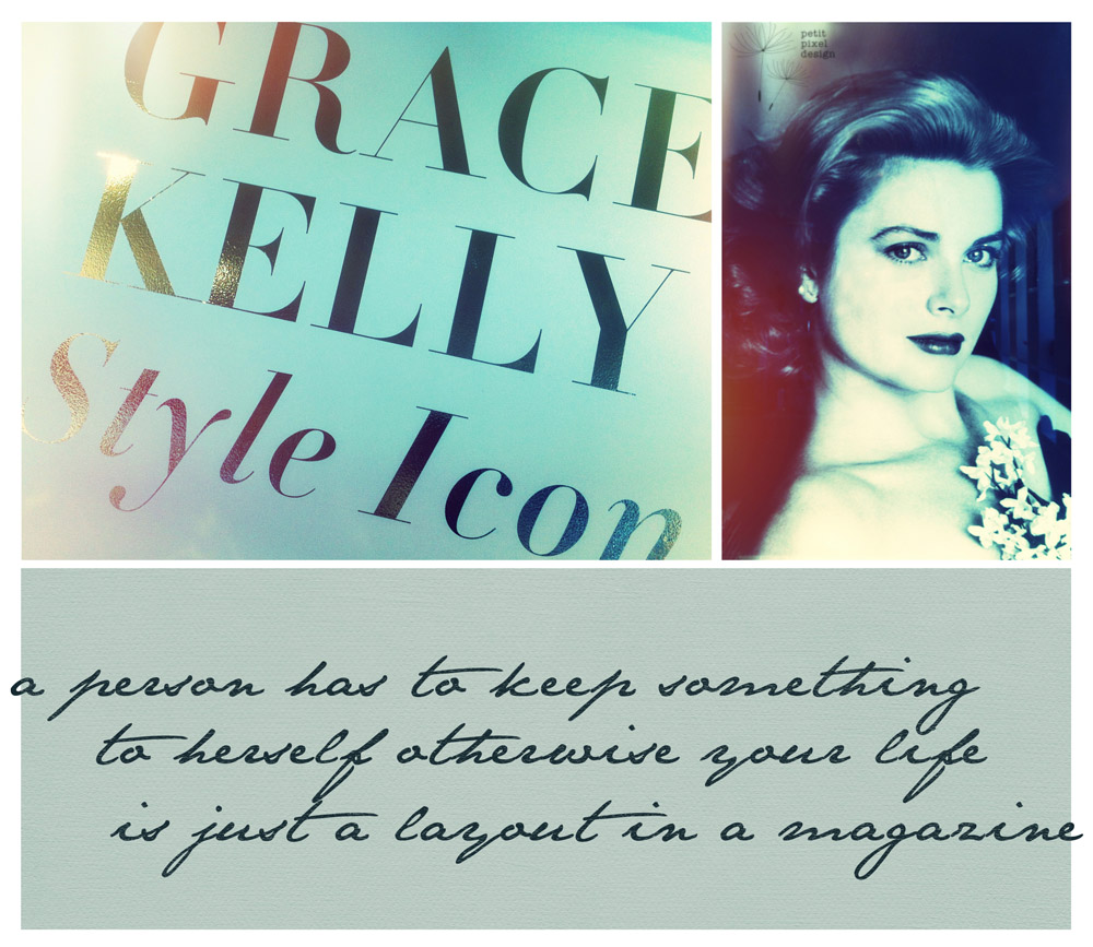 Grace Kelly Style Icon