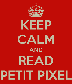 Keep Calm Petit Pixel