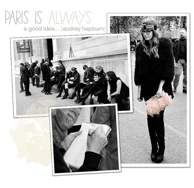 Paris Rick Owens Collage 1