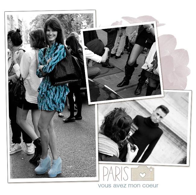 Paris Rick Owens Collage 3