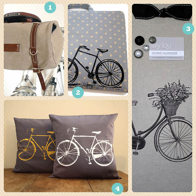 Bicycle Finds from Etsy 2