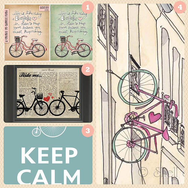 Bicycle Prints from Etsy