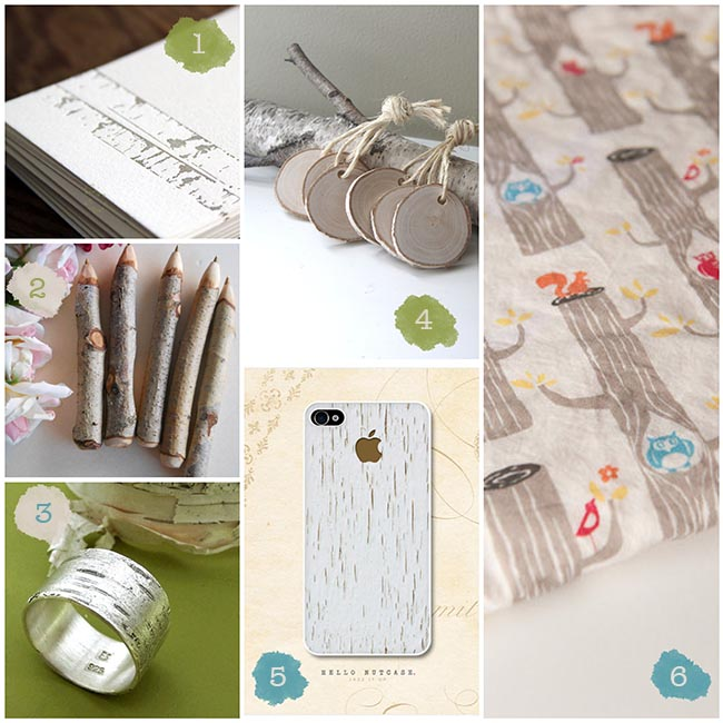 Birch Etsy Finds
