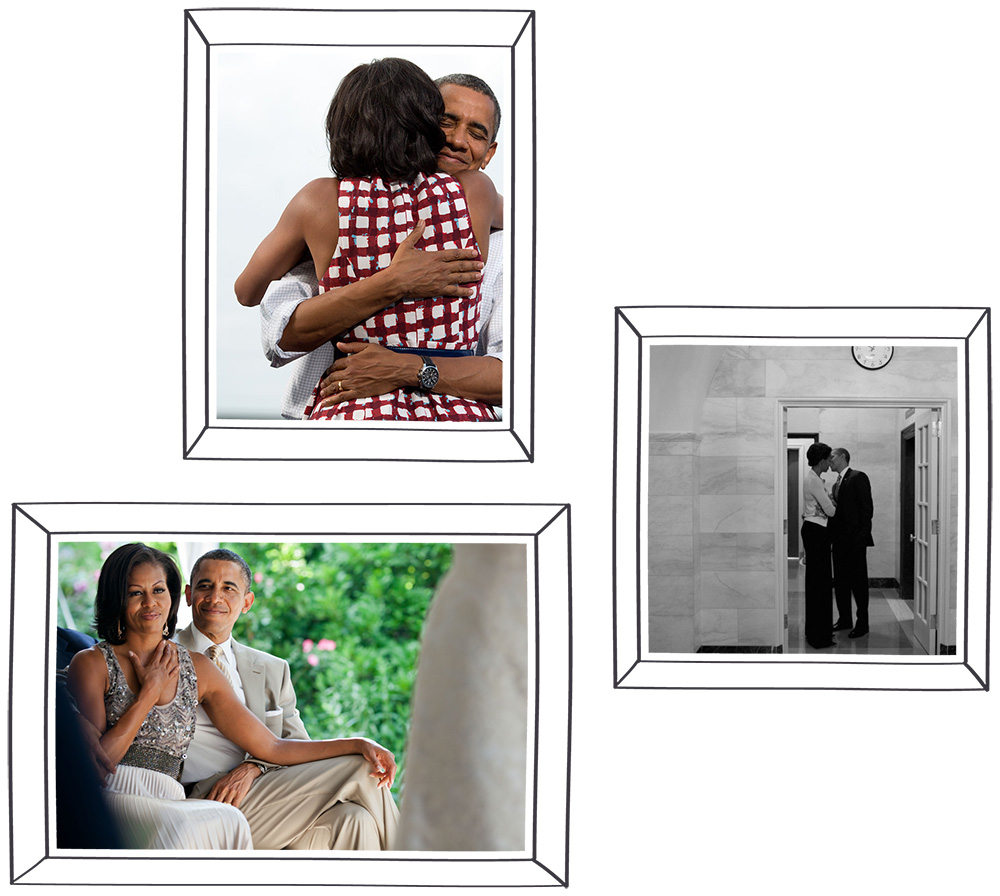 All photos by Pete Souza except for black and white by Christopher Morris for TIME Magazine