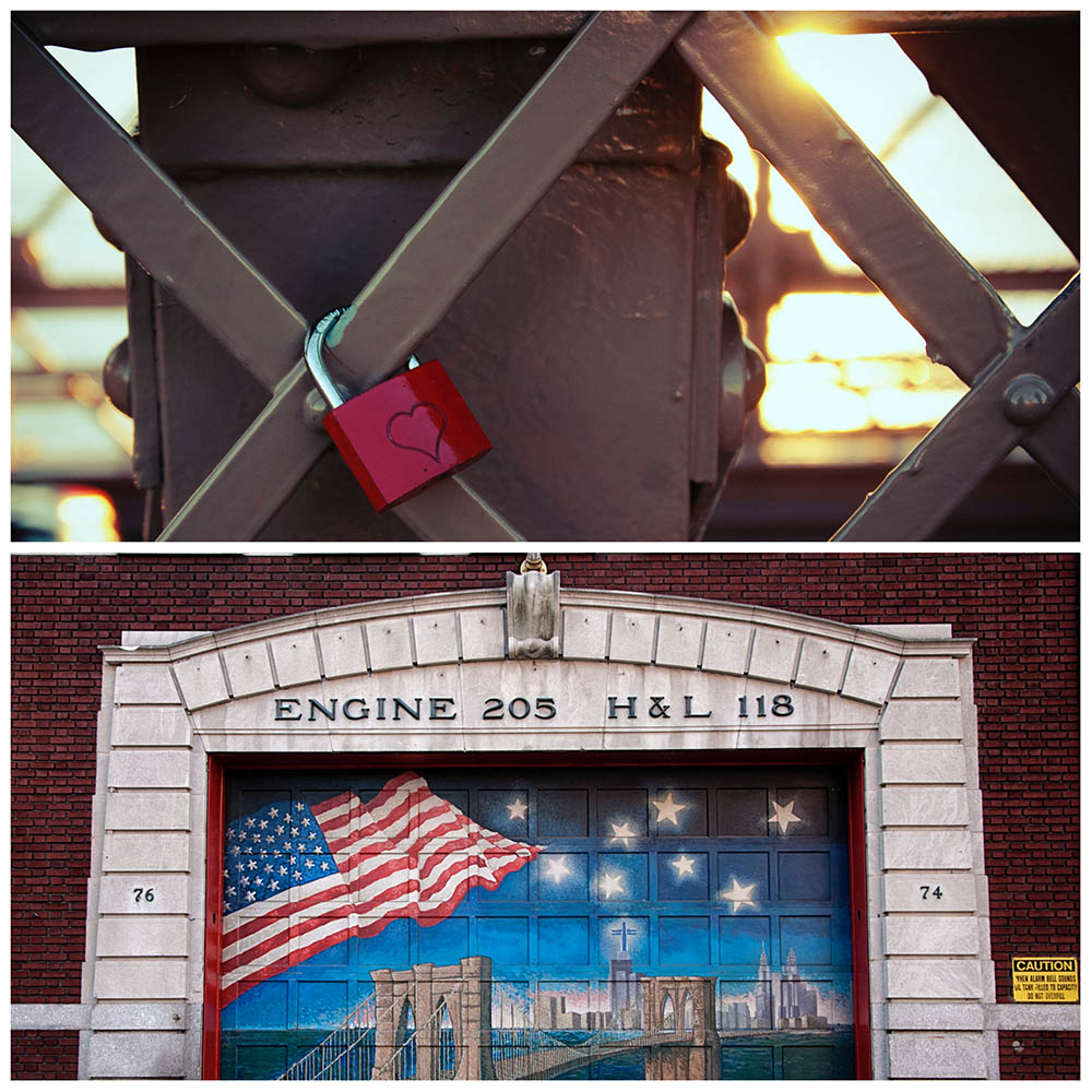 Brooklyn Bridge // Fire Station in Brooklyn