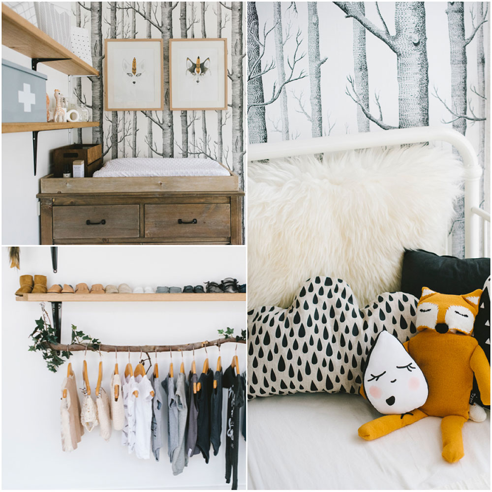 Nursery photography by  Karina Jade Photography  as shared by  Tiny Tribe Magazine