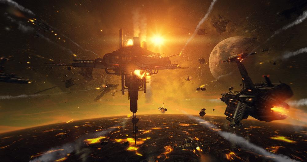 Key Shot fra Stellar Dawn (spill under utvikling)