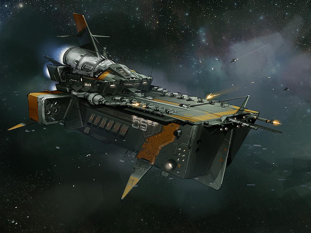 Romskipdesign for Stellar Dawn (Jagex)