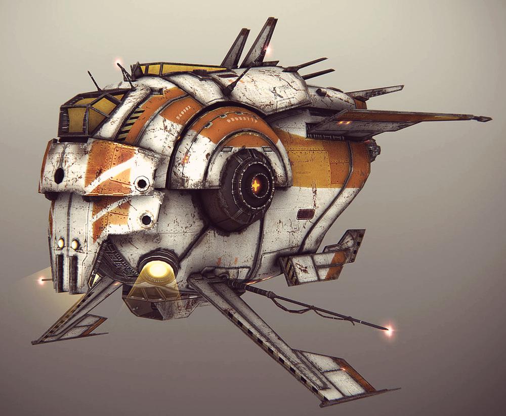 Ship design / mesh (Stellar Dawn)