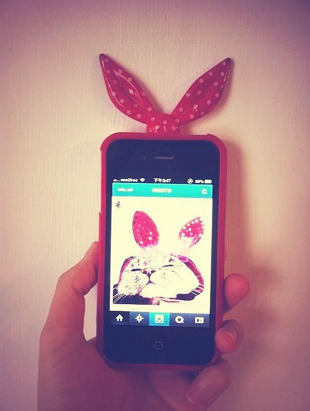 boyfriend's iphone case :-)