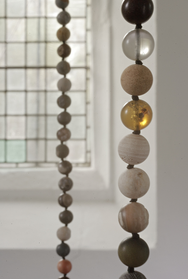 Katie Paterson, Fossil Necklace