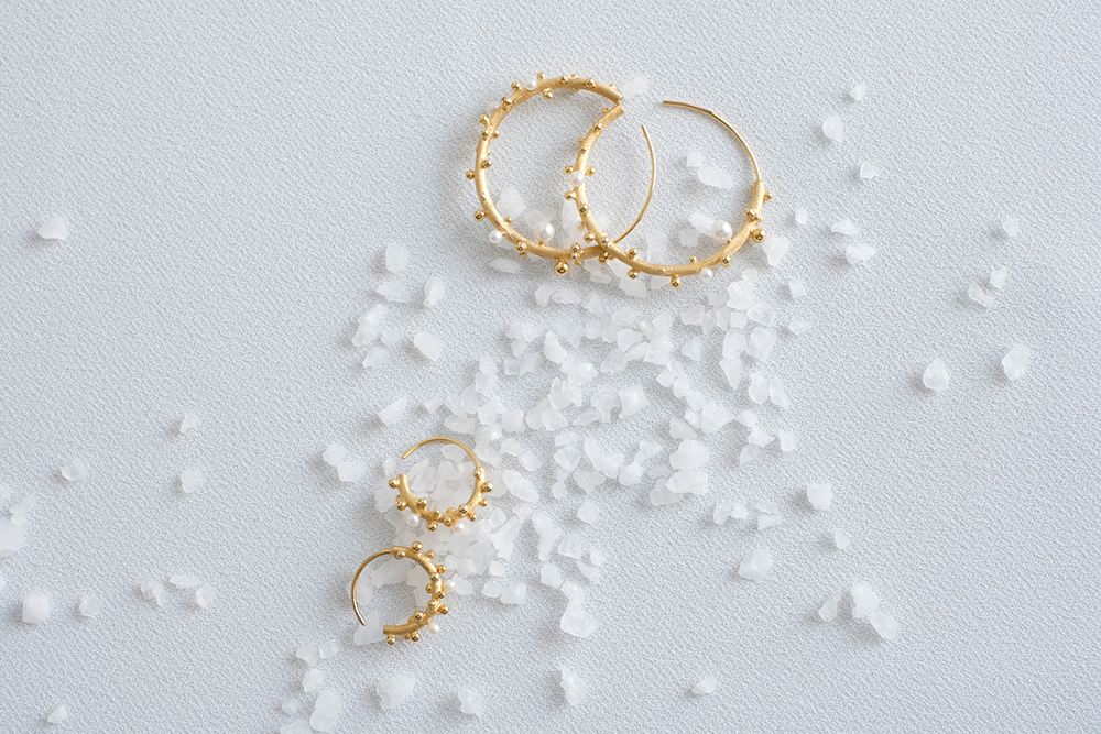 Belinda Chang First Frost Earrings