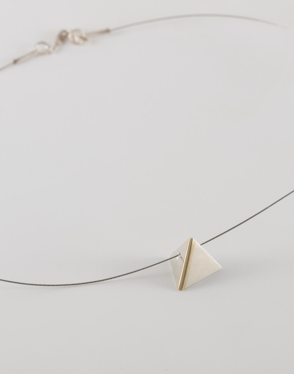 Pyramid Highlight pendant