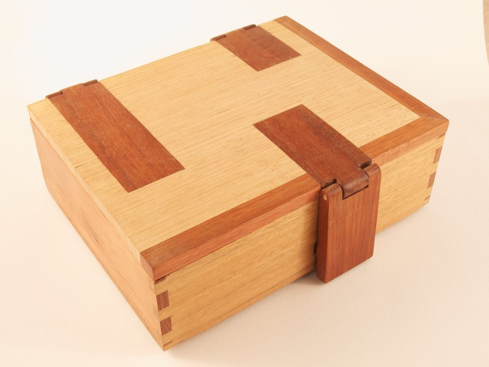 Wooden Jewellery Box Sam Mertens