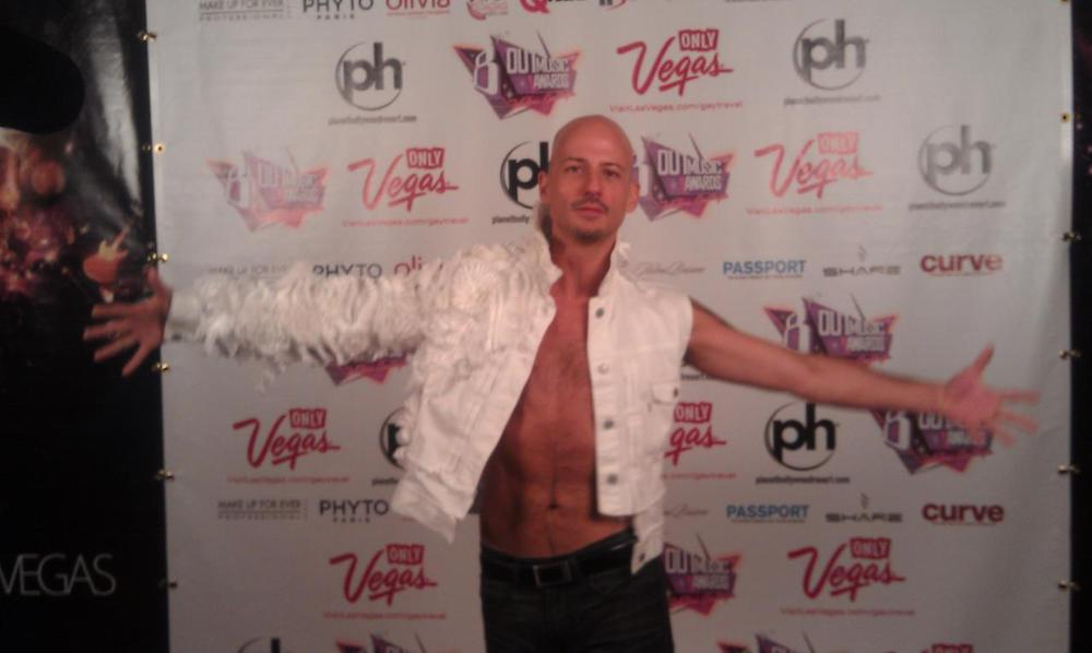 Derek Nicoletto at the 2012 OutMusic Awards