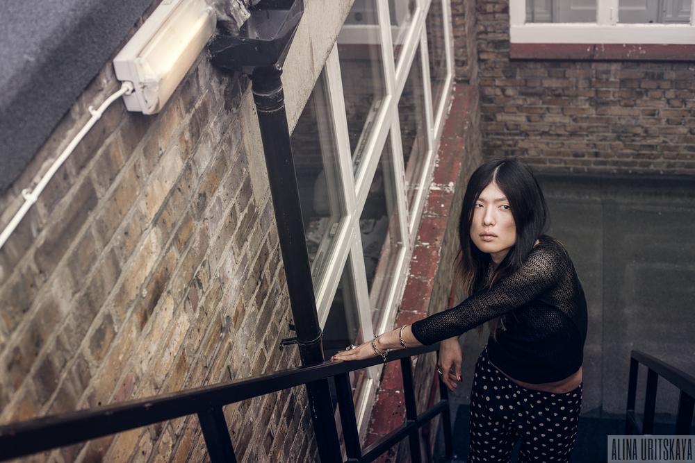 Alina Uritskaya - fashion photographer in London.
