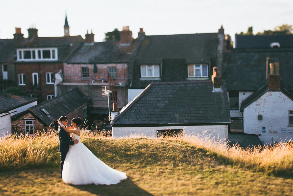 Wedding photography in Christchurch, Somerset
