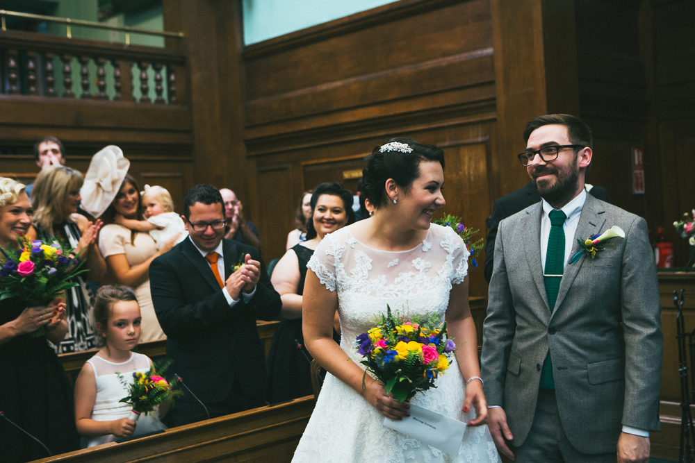 vintage style wedding, wedding photography, Camden Town Hall, London
